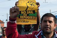 2014/08/26 Brandenburg | Flüchtlingsprotest in Frankfurt/Oder