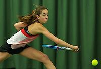 Rotterdam, The Netherlands, March 19, 2016,  TV Victoria, NOJK 14/18 years, Julie Belgraver (NED)<br /> Photo: Tennisimages/Henk Koster