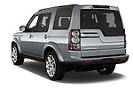 Car pictures of rear three quarter view of 2016 Land Rover Discovery HSE 5 Door Suv Angular Rear