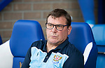St Johnstone v Brechin….24.07.19      McDiarmid Park     Betfred Cup       <br />Saints manager Tommy Wright<br />Picture by Graeme Hart. <br />Copyright Perthshire Picture Agency<br />Tel: 01738 623350  Mobile: 07990 594431