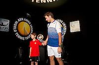 Februari 11, 2015, Netherlands, Rotterdam, Ahoy, ABN AMRO World Tennis Tournament, Stan Wawrinka (SUI) <br /> Photo: Tennisimages/Henk Koster