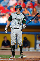 Fort Wayne TinCaps Travis Whitmore #10 during a game against the Lake County Captains at Classic Park on July 2, 2012 in Eastlake, Ohio.  Fort Wayne defeated Lake County 5-4.  (Mike Janes/Four Seam Images)