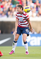 Abby Wambach.  The USWNT defeated Scotland, 4-1, during a friendly at EverBank Field in Jacksonville, Florida.