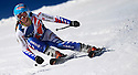 """18/03/14 <br /> <br /> British ladies moguls champion Isobel Brown at Les Houches yesterday. At only, 14, she has been selected to  to race for the British national team. She will be be one of the youngest ever females to be selected and is tipped to be an Olympic star of the future.<br /> <br /> After ten days without snowfall in France,  unseasonably high temperatures have triggered an early snow-melt. This is threatening a premature end to this year's ski season in the Alps. Picturered, competitors in the British Equity Inter School Ski Challenge Giant Slalom race struggle to find grip in the slushy conditions on the slopes at Les Houches, yesterday. <br /> <br /> One English instructor at the popular resort said: """"Last year we had so much snow and this winter we've hardly had  any. The north facing slopes are still ok but I'm worried that we might not have enough snow around to last to the end of the season in May.""""<br /> <br /> F Stop Press.  www.fstoppress.com. Tel: +44 (0)1335 300098"""