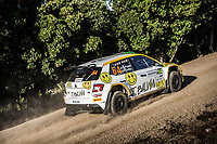 10th October 2020, Alghero, Sardinia, Italy; WRC Rally of Sardinia;   Pozzo