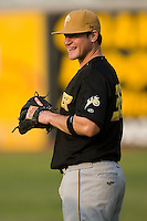 West Virginia left fielder Matt LaPorta (33) at L.P. Frans Stadium in Hickory, NC, Friday, August 24, 2007.