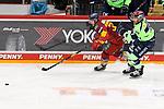 Eishockey DEL 37. Spieltag: Düsseldorfer EG vs <br /> ERC Ingolstadt am 07.04.2021 im ISS Dome in Düsseldorf<br /> <br /> Ingolstadts Frederik Storm (Nr.9) gegen Düsseldorfs Victor Svensson (Nr.39)<br /> <br /> Foto © PIX-Sportfotos *** Foto ist honorarpflichtig! *** Auf Anfrage in hoeherer Qualitaet/Aufloesung. Belegexemplar erbeten. Veroeffentlichung ausschliesslich fuer journalistisch-publizistische Zwecke. For editorial use only.