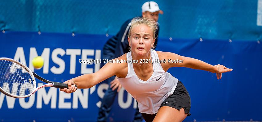 Amstelveen, Netherlands, 5  Juli, 2021, National Tennis Center, NTC, Amstelveen Womans Open, Bente Spee (NED)<br /> Photo: Henk Koster/tennisimages.com