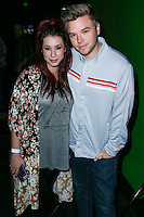 HOLLYWOOD, LOS ANGELES, CA, USA - NOVEMBER 10: Jillian Rose Reed, Brett Davern arrive at the HaloFest - Halo: The Master Chief Collection Launch Event held at Avalon on November 10, 2014 in Hollywood, Los Angeles, California, United States. (Photo by Xavier Collin/Celebrity Monitor)