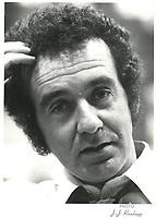 Gerald Godin<br />  en 1979<br /> Possiblement lors du septieme congres, du PQ les 1er et 2 juin 1979.<br /> <br /> <br /> PHOTO :  Agence Quebec Presse