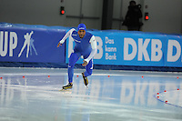 SPEED SKATING: STAVANGER: Sørmarka Arena, 29-01-2016, ISU World Cup, 1500m Men Division A, Shani Davis (USA), ©photo Martin de Jong