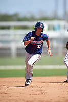 Minnesota Twins Sean Miller (37) during a minor league Spring Training intrasquad game on March 15, 2016 at CenturyLink Sports Complex in Fort Myers, Florida.  (Mike Janes/Four Seam Images)