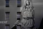 "West Houston St / West Broadway St.<br /> From the ""Tall Figures"" series. <br /> Manhattan, New York.<br /> © 2020 Thierry Gourjon"
