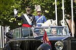 Coronation ceremony in Madrid. King Felipe VI of Spain and Queen Letizia of Spain arrive at Congreso de los Diputados. June 19 ,2014. (ALTERPHOTOS/EFE/Pool)