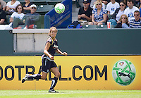 LA Sol's Stephanie Cox chases a ball. The Boston Breakers and LA Sol played to a 0-0 draw at Home Depot Center stadium in Carson, California on Sunday May 10, 2009.   .