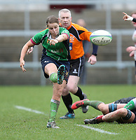 Tuesday 3rd April 2018 | Malone Women vs Ballynahinch Women<br /> <br /> Rebecca Irwin during the Easter Tuesday Ulster Womens final between Malone and Ballynahinch at Kingspan Stadium, Ravenhill Park, Belfast, Northern Ireland. Photo by John Dickson / DICKSONDIGITAL