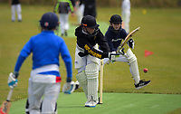 Action from the Wellington junior cricket year 7 match between Onslow Madras and Brooklyn Turbines at Ian Galloway Park in Wellington, New Zealand on Saturday, 5 December 2020. Photo: Charley Lintott / lintottphoto.co.nz