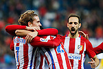 Atletico de Madrid's Antoine Griezmann, Nico Gaitan, Angel Correa, Juanfran Torres  during the match of Copa del Rey between Atletico de Madrid and Las Palmas, at Vicente Calderon Stadium,  Madrid, Spain. January 10, 2017. (ALTERPHOTOS/Rodrigo Jimenez)