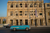 The iconic old American cars of Havana, Cuba