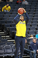 CHARLOTTESVILLE, VA- NOVEMBER 29: Trey Burke #3 of the Michigan Wolverines during the game on November 29, 2011 at the John Paul Jones Arena in Charlottesville, Virginia. Virginia defeated Michigan 70-58. (Photo by Andrew Shurtleff/Getty Images) *** Local Caption *** Trey Burke
