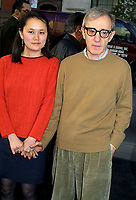 """WOODY ALLEN SOON-YI 2002<br /> PREMIERE OF """"HOLLYWOOD ENDING"""" AT THE CHELSEA WEST THEATRE IN NEW YORK CITY<br /> Photo By John Barrett/PHOTOlink /MediaPunch"""