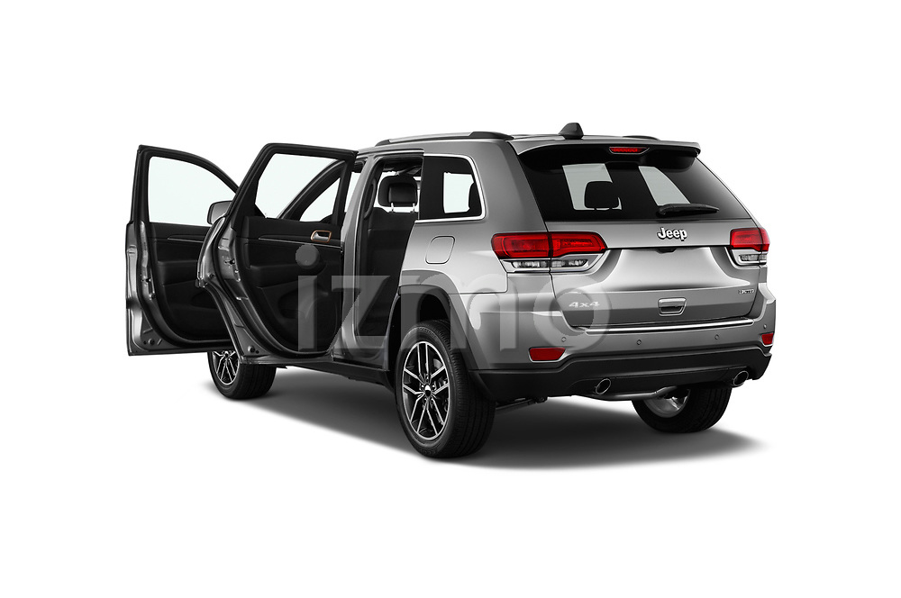 Car images close up view of a 2018 Jeep Grand-Cherokee Limited 5 Door SUV doors