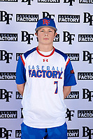 Adam Fallon (7) of Bishop Watterson High School in Powell, Ohio during the Baseball Factory All-America Pre-Season Tournament, powered by Under Armour, on January 12, 2018 at Sloan Park Complex in Mesa, Arizona.  (Mike Janes/Four Seam Images)