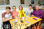 Jordan Walsh from Listellick celebrating his birthday in Sforno's on Saturday.<br />  Seated l to r: Jordan Walsh, Lauren Foley, Mandy, Dylan and Denis Walsh.