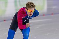 28th December 2020; Thialf Ice Stadium, Heerenveen, Netherlands; World Championship Speed Skating; 10000m men, Marwin Talsma during the WKKT