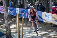 Laurens Sweeck (BEL/Pauwels Sauzen - Bingoal) <br /> <br /> Elite Women's Race<br /> 2021 UCI cyclo-cross World Cup - Zonhoven (BEL)<br /> <br /> ©kramon