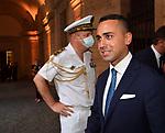 LUIGI DI MAIO<br /> RICEVIMENTO 14 LUGLIO 2021 AMBASCIATA DI FRANCIA<br /> PALAZZO FARNESE ROMA