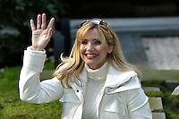 Roma 5/2/2004 RAI Viale Mazzini<br /> Presentazione del programma 30 ore per la vita.<br /> Nella foto la conduttrice del programma Lorella Cuccarini<br /> Foto Andrea Staccioli Insidefoto