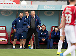 Hamilton Accies v St Johnstone….18.05.19      New Douglas Park        SPFL<br />Brian Rice cheers on his players<br />Picture by Graeme Hart. <br />Copyright Perthshire Picture Agency<br />Tel: 01738 623350  Mobile: 07990 594431