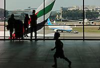 Departure Lounge, Changi airport, Terminal 1, Singapore, 13 August 2015.