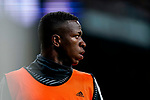 Vinicius Junior of Real Madrid looks on during the La Liga 2018-19 match between Real Madrid and Rayo Vallencano at Estadio Santiago Bernabeu on December 15 2018 in Madrid, Spain. Photo by Diego Souto / Power Sport Images