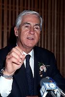 Andre Chagnon<br /> , 7 avril 1987<br /> <br /> PHOTO :   Agence Quebec Presse