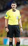 Aberdeen v St Johnstone…22.09.16.. Pittodrie..  Betfred Cup<br />Referee Craig Thomson<br />Picture by Graeme Hart.<br />Copyright Perthshire Picture Agency<br />Tel: 01738 623350  Mobile: 07990 594431