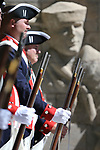 Members of the Sons of American Revolution Battle Born Chapter particpate in the 19th Annual Flag Day Ceremony & U.S. Army Birthday ceremony at the Nevada Veterans Memorial in Carson City, Nev. on Wednesday, June 14, 2017. <br />Photo by Cathleen Allison/Nevada Photo Source