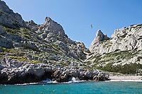 Europe/France/Provence-Alpes-Côte d'Azur/13/Bouches-du-Rhône/Marseille: l'Ile Riou - Calanque de Fontagne