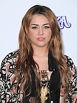 """Miley Cyrus attends the Paramount Pictures' L.A. Premiere of """"JUSTIN BIEBER: NEVER SAY NEVER."""" held at The Nokia Theater Live in Los Angeles, California on February 08,2011                                                                               © 2010 DVS / Hollywood Press Agency"""