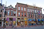 Larimer Square in Downtown Denver's Historic District, 16th Street Mall, Denver, Colorado. .  John offers private photo tours in Denver, Boulder and throughout Colorado. Year-round Colorado photo tours.