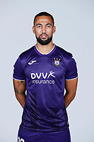 30th July 2020, Turbize, Belgium; Kemar Roofe forward of Anderlecht pictured during the team photo shoot of Rsc Anderlecht prior the new Jupiler Pro League season, on 30/07/2020, in Tubize, Belgium.
