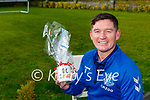 Francie Brosnan Castleisland whose team Toffee Heaven won Kerrys Eye Fantasy Football Manager of the Month for April