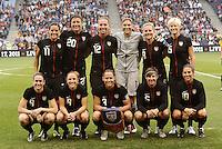 USA Women vs Canada September 17 2011