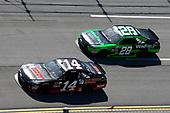 NASCAR Xfinity Series<br /> Sparks Energy 300<br /> Talladega Superspeedway, Talladega, AL USA<br /> Saturday 6 May 2017<br /> JJ Yeley, Superior Essex Toyota Camry, Dakoda Armstrong, WinField United Toyota Camry<br /> World Copyright: Lesley Ann Miller<br /> LAT Images<br /> ref: Digital Image lam_170506DEGA49654