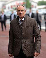 Pictured: Manager Francesco Guidolin arrives Wednesday 11 May 2016<br /> Re: Awards Dinner 2016, at the Liberty Stadium, south Wales, UK.