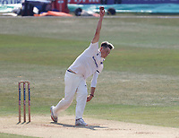 Henry Crocombe bowls for Sussex during Kent CCC vs Sussex CCC, Bob Willis Trophy Cricket at The Spitfire Ground on 9th August 2020