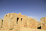 Mamshit, site of Mampsis one of the Nabatean cities of the Spice Route