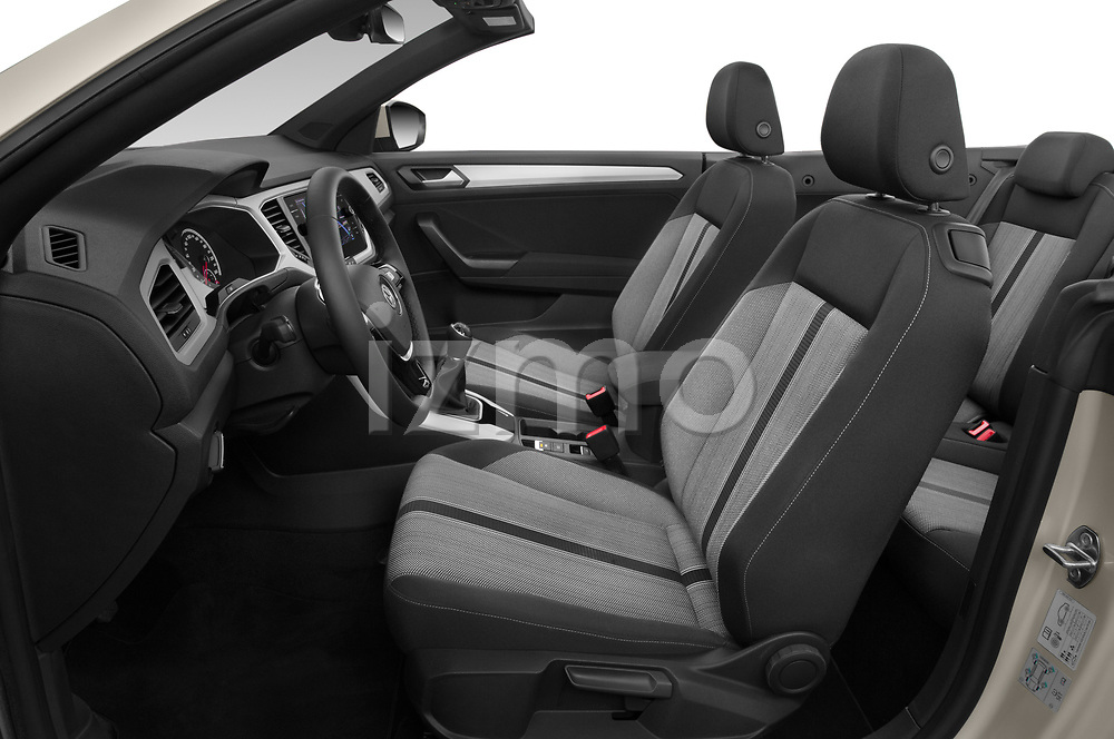 Front seat view of 2020 Volkswagen T-Roc Style 5 Door SUV Front Seat  car photos