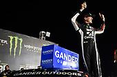 #51: Kyle Busch, Kyle Busch Motorsports, Toyota Tundra Cessna , celebrates after winning the North Carolina Education Lottery 200.